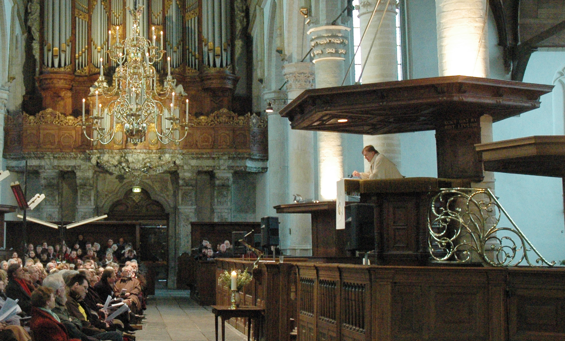 Preek: 21 september 2014, Oude Kerk Amsterdam
